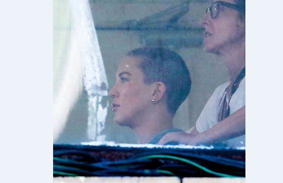Kate Hudson Shaves Her Head for Mystery Project