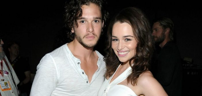 Kit Harington and Emilia Clarke Are Cute in Real Life