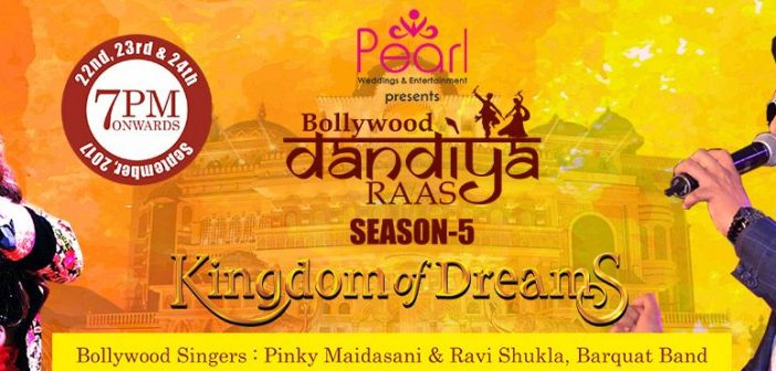 Bollywood Dandiya Raas Season 5 September 2017