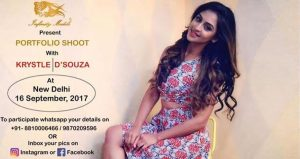 Fashion Photoshoot with Krystle D'souza 16 September 2017