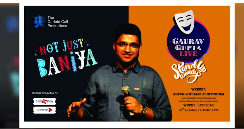Not Just Baniya by Gaurav Gupta Event Details