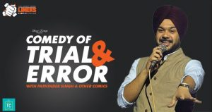 Parvinder Singh Live Standup Comedy Night Delhi