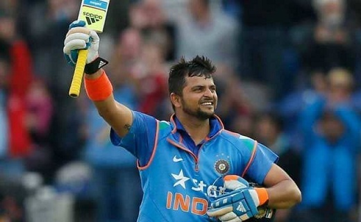 Suresh Raina Height