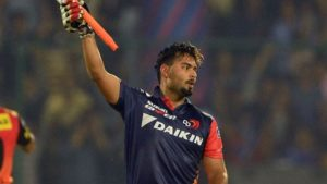 Rishabh Pant Height
