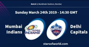 MI VS DC: Match 3, Preview, Time, Venue, Fixture, Date, IPL Live Streaming, Live Score, Prediction