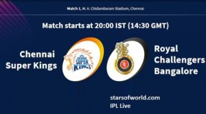 RCB Vs CSK: First Match, Preview, Time, Venue, Fixture, Date, IPL Live Streaming, Live Score, Prediction