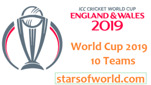 ICC World Cup 2019 Teams