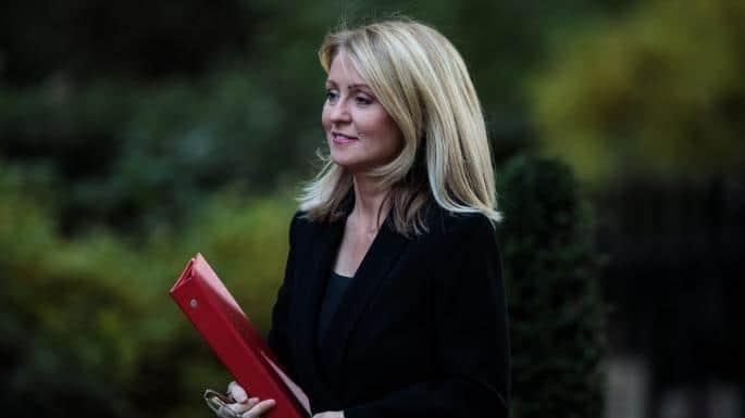 Esther McVey Height