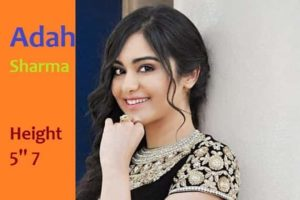 Adah Sharma Height