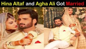 Hina Altaf Khan got married to Agha Ali
