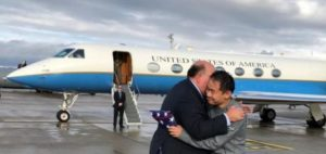American freed in prisoner swap