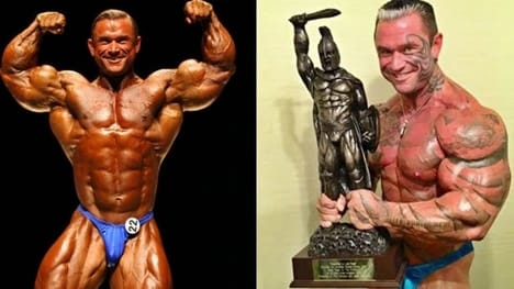 Lee Priest Arm Size